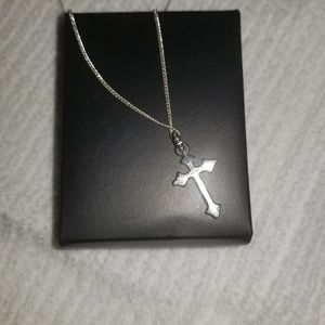 Jewelry - Silver colored cross Necklace